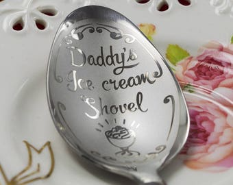 Engraved stainless spoon, personalized spoon, spoon for man, favorite spoon, wedding favour, stainless spoon, Personalized stainless spoon