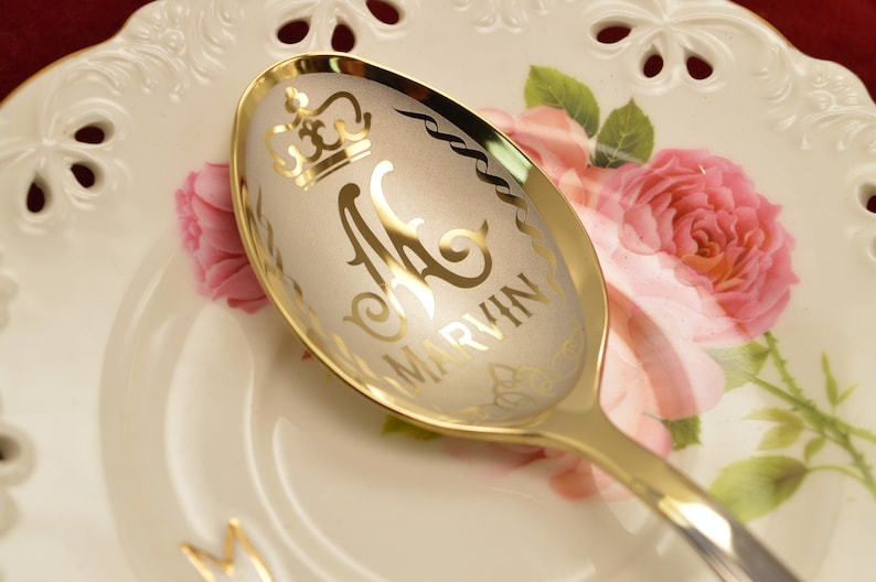 Personalized Monogram spoon gift spoon Engraving spoon engraved inscriptions spoon image spoon Christmas original gift for dad spoon for mom