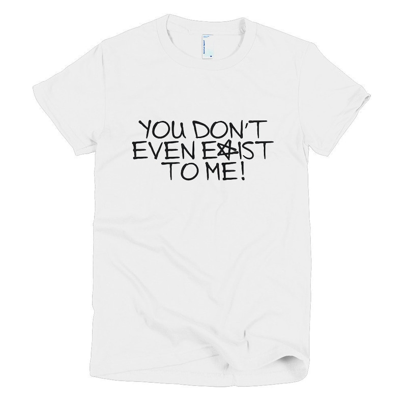 The Craft Womens T-Shirt You Don't Exist To Me Horror image 0