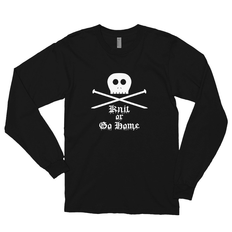 Gilmore Girls Unisex Long Sleeve Tee Knit Or Go Home image 0