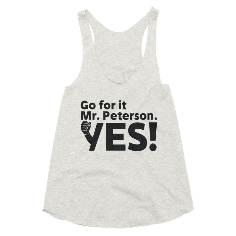 The Burbs Womens Tank Top Go For It Mr Peterson Yes Horror image 0