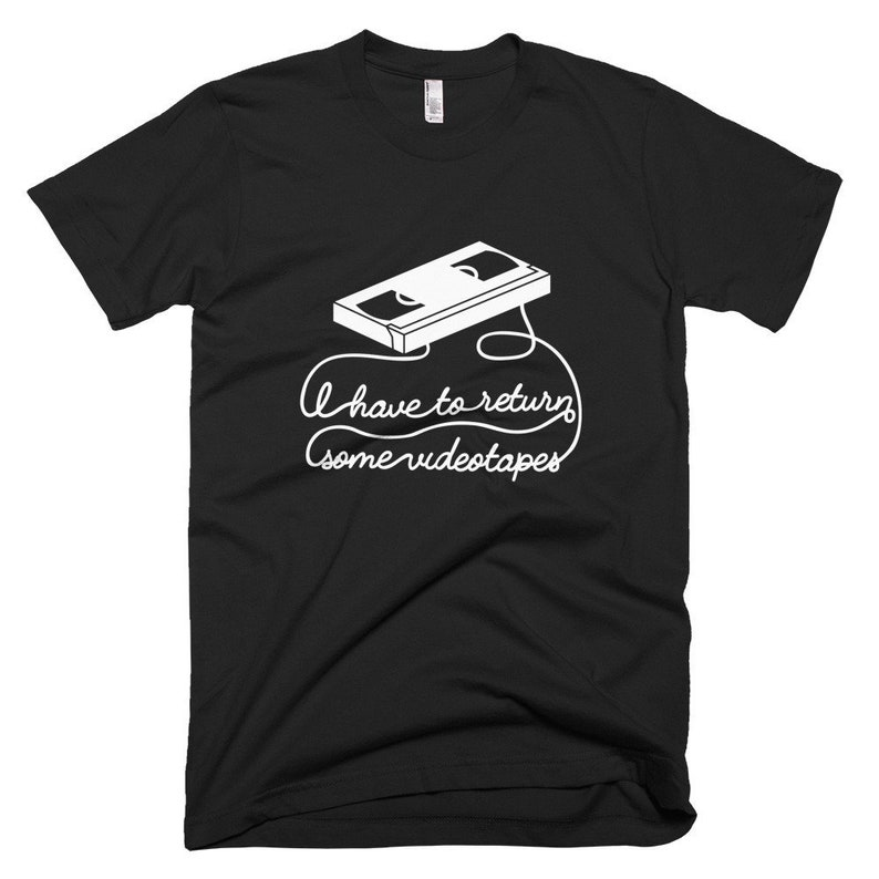 American Psycho Mens T-Shirt I Have To Return Some Video image 0