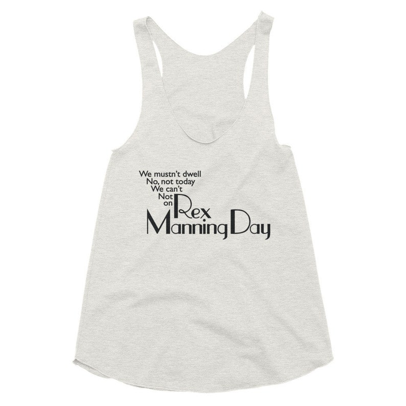 Empire Records Womens Tank Top We Mustn't Dwell On Rex image 0