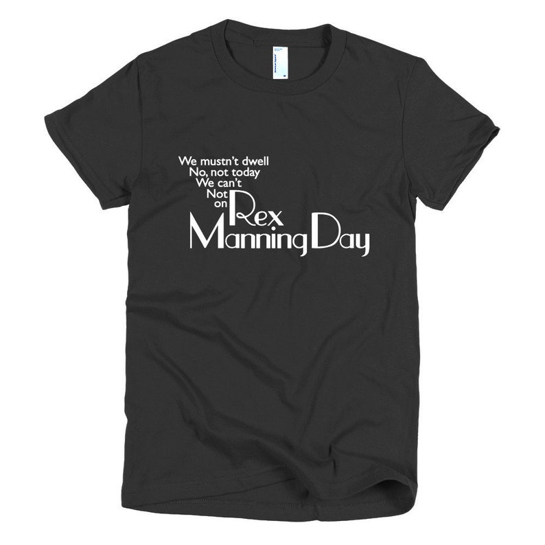 Empire Records Womens T-Shirt We Mustn't Dwell On Rex image 0