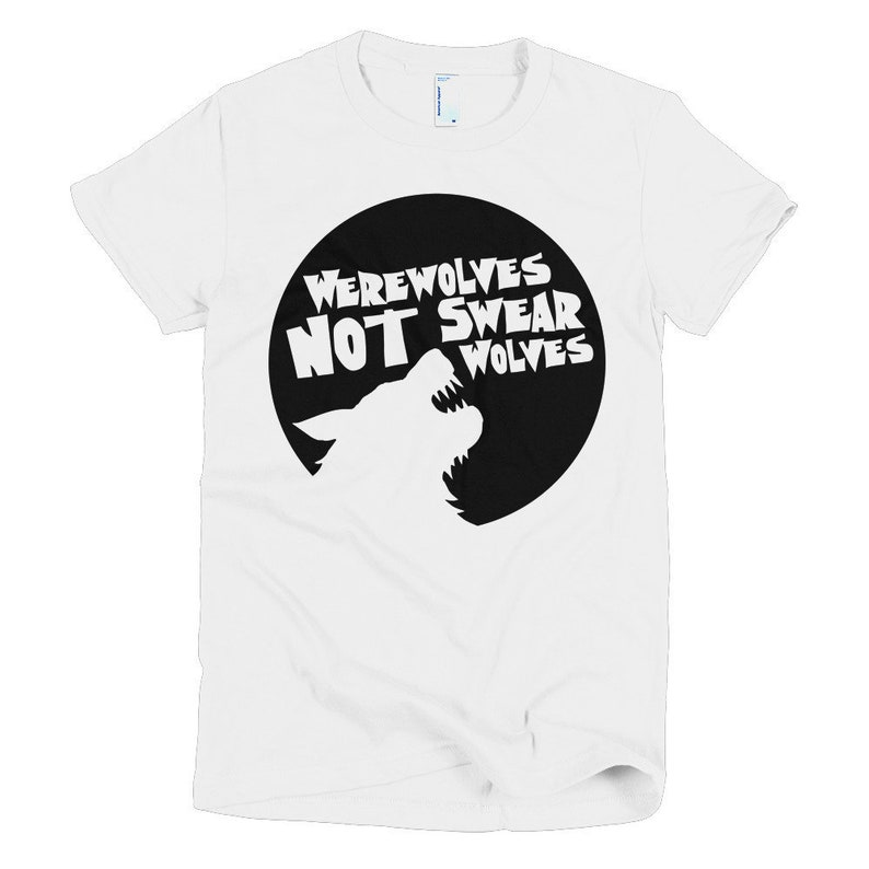 What We Do In The Shadows Womens T-Shirt Werewolves Not Swear image 0