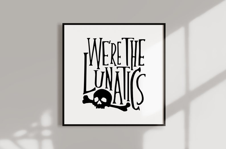 The Burbs Movie Poster We're The Lunatics Cult Film image 0