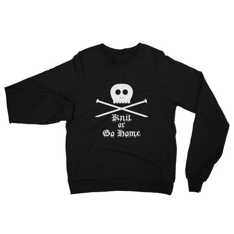 Gilmore Girls Unisex Sweatshirt Knit Or Go Home Pullover image 0