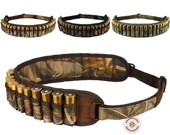 Cartridge Belt Case, Bandolier Ammo Holder, Cartridge Belt Holder, Belt Shell Holder, Belt Shell Case Hunting