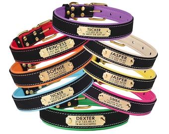 Custom Dog Collars Etsy