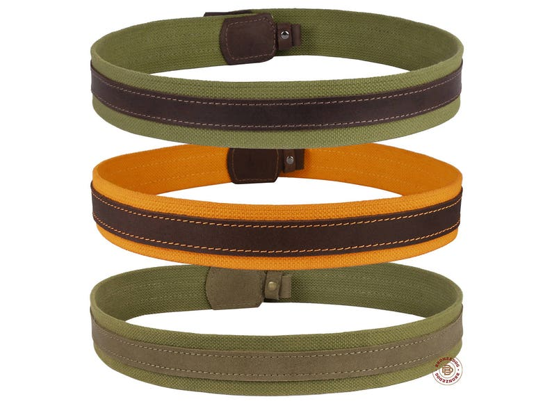 Made in Europe. Rifle Shotgun Ammo Sling Hunting Shoulder Strap Leather//Canvas