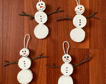 Holiday Frosty The Snowman Ornaments