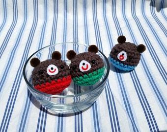 Happy amigurumi bears