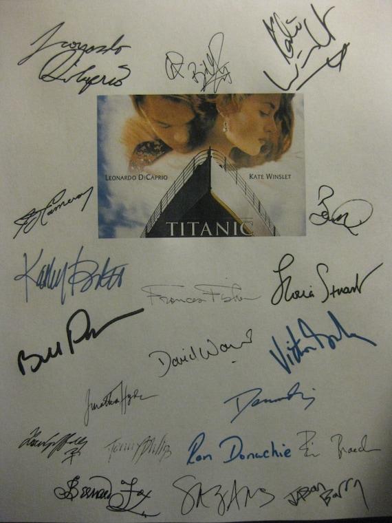 "Leonardo Dicaprio Film Actor Signed Autograph PRINT 6x4/"" Gift"