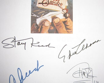 Cheech and Chong's Up In Smoke Signed Movie Film Script Screenplay X5 Autograph Cheech Marin Tommy Chong Stacy Keach Edie Adams Martin