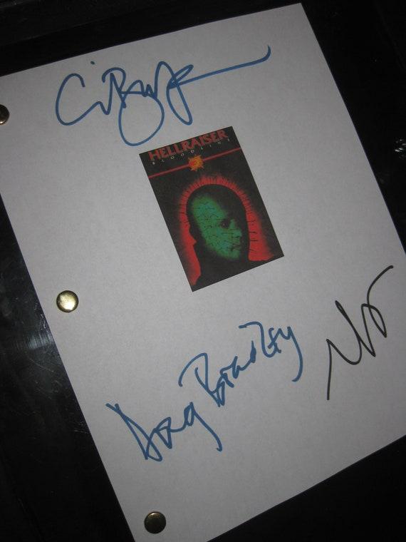 Clive Barker Original Hellraiser Concept Art