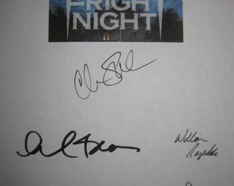 Fright Night Signed Film Movie Script Screenplay Autograph X5 Chris Sarandon William Ragsdale Roddy McDowall Amanda Bearse Stephen Geoffreys