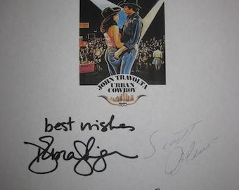 Urban Cowboy Signed Film Movie Screenplay Script Autograph X5 John Travolta Debra Winger Scott Glenn Barry Corbin James Gammon signature
