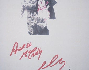 Pretty in Pink Signed Movie Film Script Screenplay X3 Autographs Molly Ringwald Jon Cryer Andrew McCarthy signatures classic