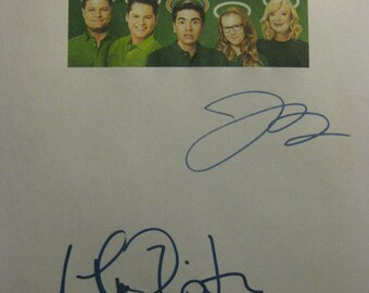 The Real O'Neals Signed TV Script Screenplay Autographs Martha Plimpton Jay R. Ferguson reprint comedy signatures