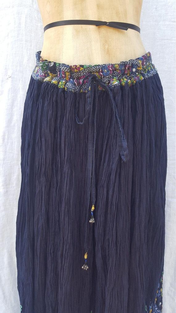 Vintage deadstock India skirt - image 2