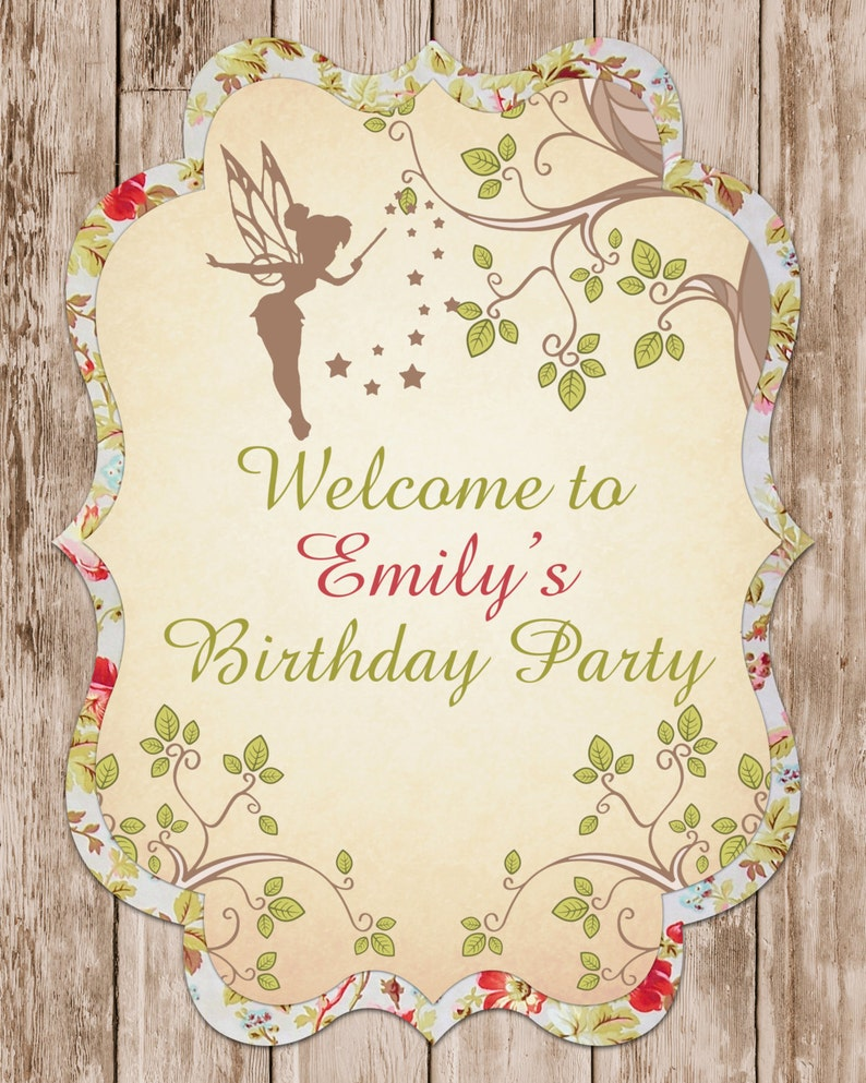 Enchanted Forest Birthday Party Package Fairy Garden Party Package Woodland Fairy Birthday Party Package Fairy Garden Party Package