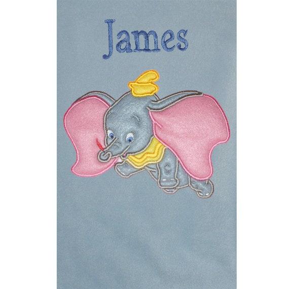 Sleeping Tigger Personalised /& Applique Super Soft Fleece Baby Blanket