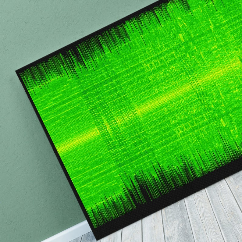 Megadeth - Hangar 18 Sound Wave Art - Unique Canvas, Poster or Digital  Image - Free P&P
