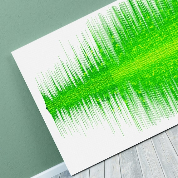 Band Aid - Do They Know Its Christmas Sound Wave Art - Unique Canvas,  Poster or Digital Image - Free P&P