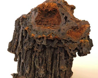 Rare goethite with limonite from Wallersheim, Germany - cabinet size