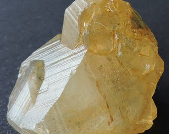 Rare shaped golden honey calcite crystals  from Landelies, Montigny-le-Tilleul, Hainaut Province, Belgium