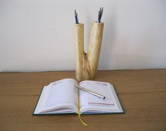 Pen box Elder wood-office furniture-desk-furniture-Design Object