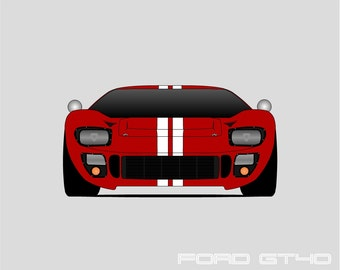 Ford Gt Le Mans Carroll Shelby Ford Gt Mk Iv Ford Gt Print Poster Art