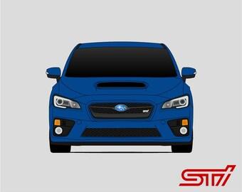 Subaru WRX STI // 2015 2016 // Impreza