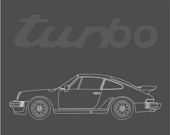 Porsche 930 Turbo // 911 Turbo // Turbo Carrera // 1975- 1977 // Porsche Art