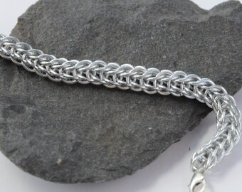 Full Persian Chain Maille Bracelet // Chain Maille Jewellery // Chain Mail