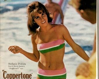 1960s Coppertone suntan lotion spokesperson Stefanie Powers 1708
