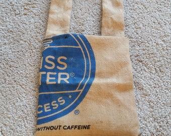 Coffee sack tote bag