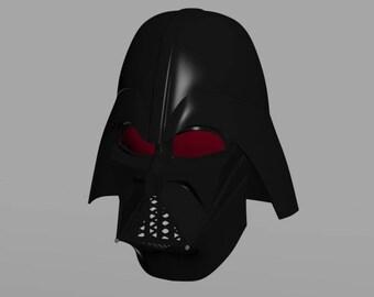 Star Wars Rebels Darth Vader Helmet 3D Print File