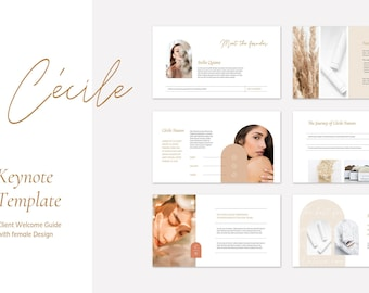 Cécile Keynote Presentation Template . Client Welcome Guide . Brand Guidelines . Project Proposal