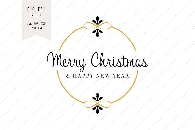 dxf SVG Christmas Saying Clipart * Holiday Greetings * Instant Digital Download * svg jpeg png eps