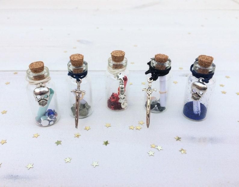 Elf Glitter Dust Party Bag Fairy on Clasp Small Bottles Fairy Fairy Door