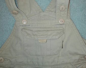 Vintage style overalls for baby boy Made by Adams Size 3-6months