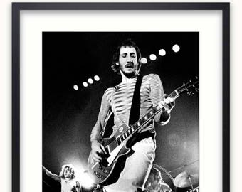 The Who - Rotterdam 1975 - Poster