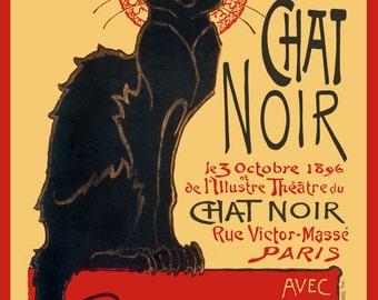 f37125ebecc Le Chat Noir Classic Art Nouveau Poster