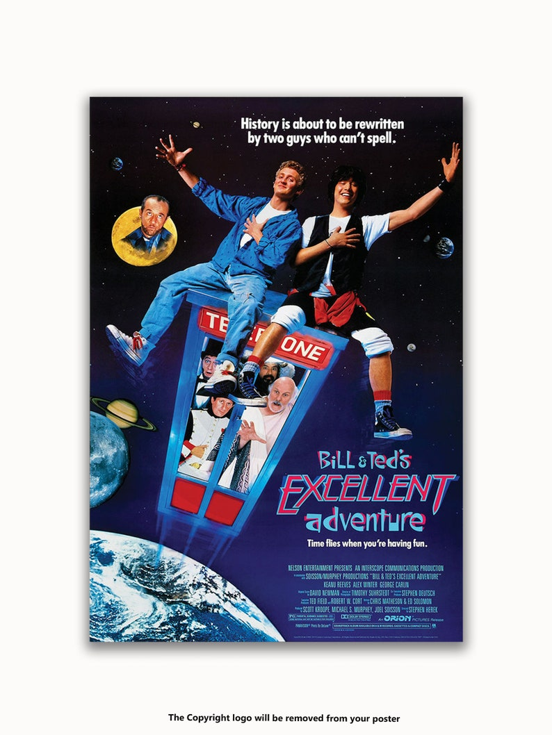 Bill And Ted/'s Excellent Adventure Licensed Poster