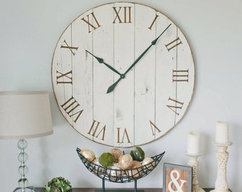 36 inch wall clock. 36 inch clock. Oversized wall clock. Large wall clock.