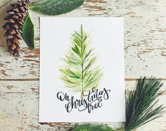 Oh Christmas Tree - Digital Download