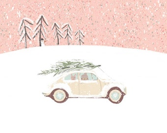 Christmas Postcard by Chilli and Jens - Postcard A6