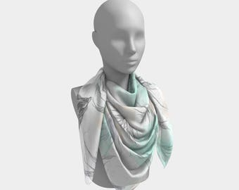 lightness square scarf