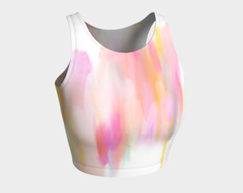 Emmy Unicorn crop top
